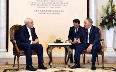 Meeting with Mohammad Javad Zarif, Minister of Foreign Affairs of the Islamic Republic of Iran