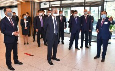 "The Head of State visits multifunctional music centre ""SEN"""