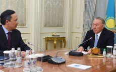 Meeting with Foreign Minister Kairat Abdrakhmanov