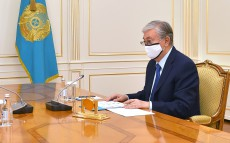 The Head of State receives Akim of Pavlodar region Abylkair Skakov
