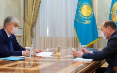 The Head of State receives Prosecutor General Gizat Nurdauletov