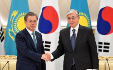 Briefing on the results of negotiations with President of the Republic of Korea Moon Jae-in