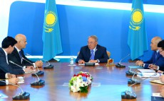 Meeting with the CEO of Eni Claudio Descalzi within the framework of the Foreign Investors Council under the President of Kazakhstan