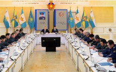 Operational Strategic Meeting in the Ministry of Defence