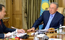 Meeting with Deputy Chairman - Head of the Secretariat of the Assembly of the People of Kazakhstan Yeraly Tugzhanov