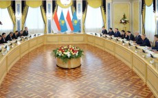 Today President Nursultan Nazarbayev Meets President of Indonesia Susilo Bambang Yudhoyono