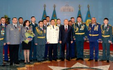 Participation in the state decorations presenting ceremony