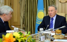 Meeting with Minister of Foreign Affairs Yerlan Idrisov