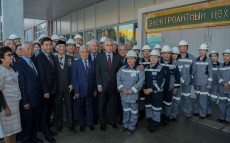 President of Kazakhstan Kassym-Jomart Tokayev visited the Kazakhmys Smelting LLP copper smelting plant in Zhezkazgan