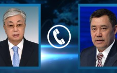 Kassym-Jomart Tokayev had a telephone conversation with President of the Kyrgyz Republic Sadyr Zhaparov