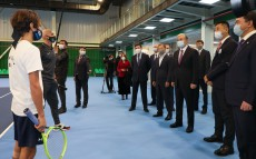 Kassym-Jomart Tokayev visits a number of sports facilities in Karaganda