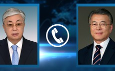 President Kassym-Jomart Tokayev had a telephone conversation with President of the Republic of Korea Moon Jae-in