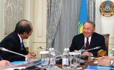 Meeting with Shigeo Katsu, President of «Nazarbayev University»