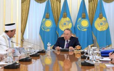 Meeting with Kazakhstan's Spiritual Board of the Muslims